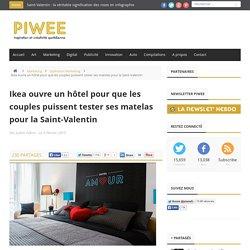 Ikea ouvre un hôtel pour que les couples puissent tester ses matelas pour la Saint-Valentin