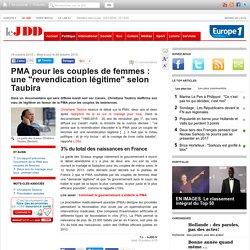 """PMA pour les couples de femmes : une """"revendication légitime"""" selon Taubira"""