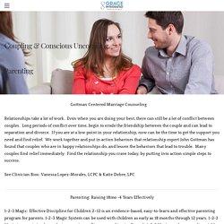 Couples Therapist Using Gottman Methods - Grace Integrated, LLC