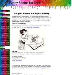 Couplet Poems and Couplet Poetry