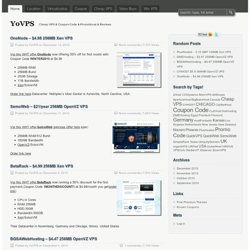YoVPS - Cheap VPS & Coupon Code & Promotional & Reviews