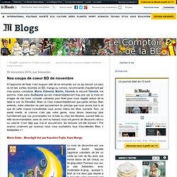 Nos coups de coeur BD de novembre - Le Comptoir de la BD - Blog LeMonde.fr