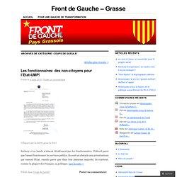 Front de Gauche - Grasse