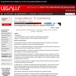 Cour d'appel de Toulouse, 2ème ch., arrêt du 15 juin 2016