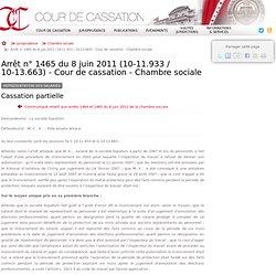 Cour de cassation - Représentation des salariés