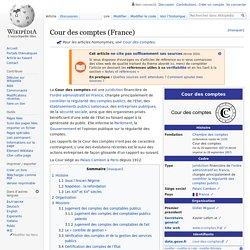 Cour des comptes (France)