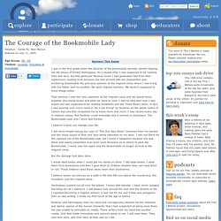 The Courage of the Bookmobile Lady « Yinishye