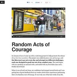 Random Acts of Courage