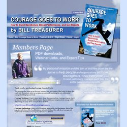 Courage Goes To Work - Members Page