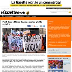 Petit-Bard : Mères Courage contre ghetto scolaire
