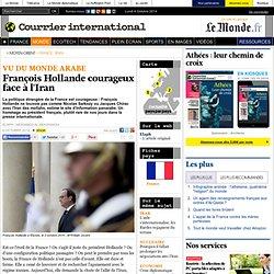 François Hollande courageux face à l'Iran