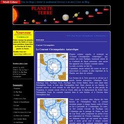 Courant Circumpolaire : Planete Terre