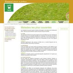 Maladies les plus courantes - Jardin-facile - Optimisez votre pelouse - Entretien de gazon et conseil en jardinage