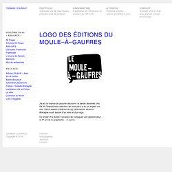 Portfolio—Logo des éditions du Moule–à–Gaufres