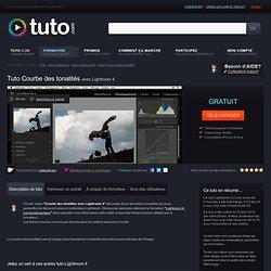 courbe des tonalités LR 4 sur Tuto.com