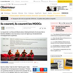 Ils courent les MOOCs mais pour aller où?