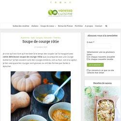 Soupe de courge rôtie - recette facile et réconfortante