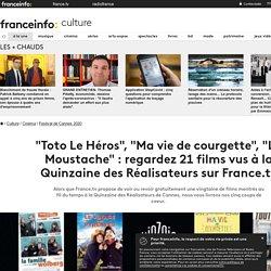 """""""Toto Le Héros"""", """"Ma vie de courgette"""", """"La Moustache"""" : regardez 21 films vus à la Quinzaine des Réalisateurs sur France.tv"""