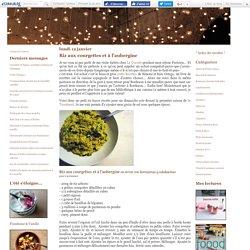 Riz aux courgettes et à l'aubergine - La cuisine de Lilou