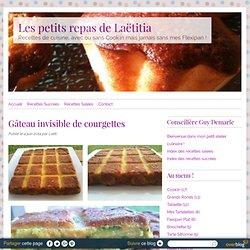 Gâteau invisible de courgettes - RECETTE FLEXIPAN GUY DEMARLE - Conseillère Guy Demarle dans le Vaucluse (84)