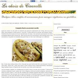 Courgettes farcies au sarrasin et au tofu - Le choix de Cicerolle - Blog de cuisine végétarienne