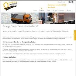 Courier Service for Fairfax, VA
