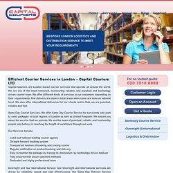london courier service