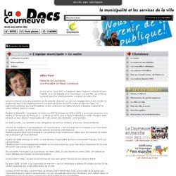La Courneuve Docs : VOS ÉLUS > L'équipe municipale > Le maire