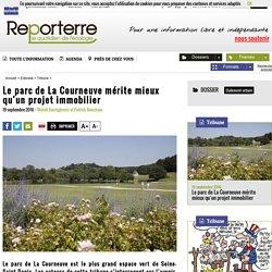 Le parc de La Courneuve mérite mieux qu'un projet immobilier