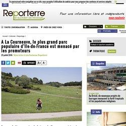 A La Courneuve, le plus grand parc populaire d'Ile-de-France est menacé par les promoteurs