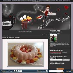 Mousse de jambon en couronne - La Cuillère Magique