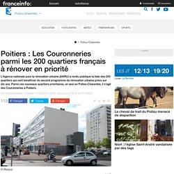 Poitiers : Les Couronneries parmi les 200 quartiers français à rénover en priorité - France 3 Poitou-Charentes