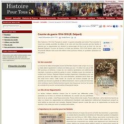 Courrier de guerre 1914-1918 (R. Delpard)