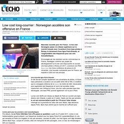 Low cost long-courrier : Norwegian accélère son offensive en France