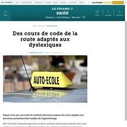 Des cours de code de la route adaptés aux dyslexiques