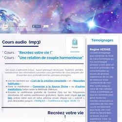 Cours audio