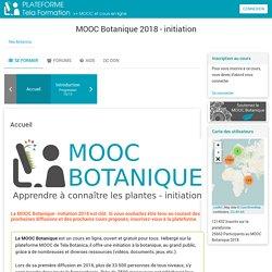 Cours: MOOC Botanique 2018 - initiation