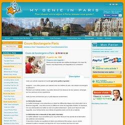 Cours de boulangerie a Paris