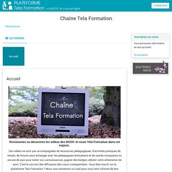 Cours: Chaîne Tela Formation