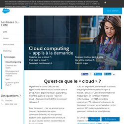 Introduction au Cloud Computing