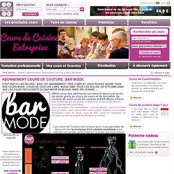 cours de couture, cour des créateurs, école de mode, Paris
