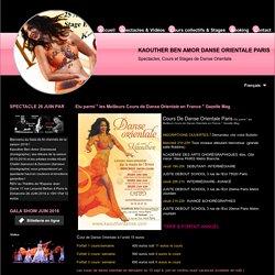Cours danse Orientale et Stage de danse orientale Paris Kaouther Ben Amor