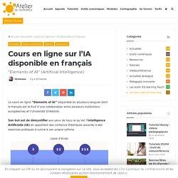Cours en ligne sur l'IA disponible en français