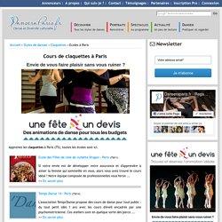 Cours et écoles de claquettes à Paris (75)