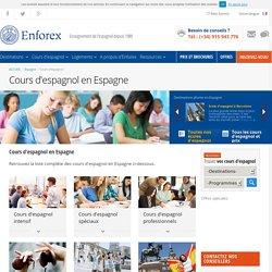 Cours d'espagnol en Espagne avec Enforex