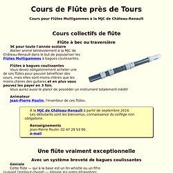 Cours de Flûte à Tours (37) à 3€
