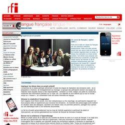 Un cours de français « option radio»