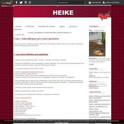Cours : Soins infirmiers pré et post opératoires - Le blog de heike