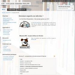 Cours d'info-doc (6e)