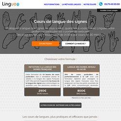Cours de langue des signes française - LSF